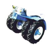 Колеса транспортные 4.50-10 для мотоблоков Нева (комплект)