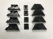 Рем.комплект вариатора Барс (пластик 8 обойм+4 вкладыша)